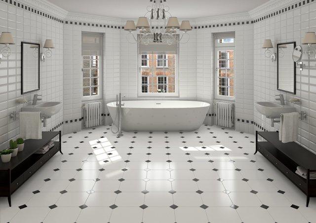carrelage-salle-bains-octogonal-style-graphique